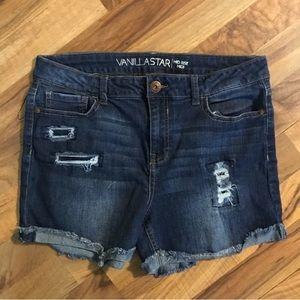 ⭐️SALE⭐️Vanilla Star | Denim Distressed Shorts
